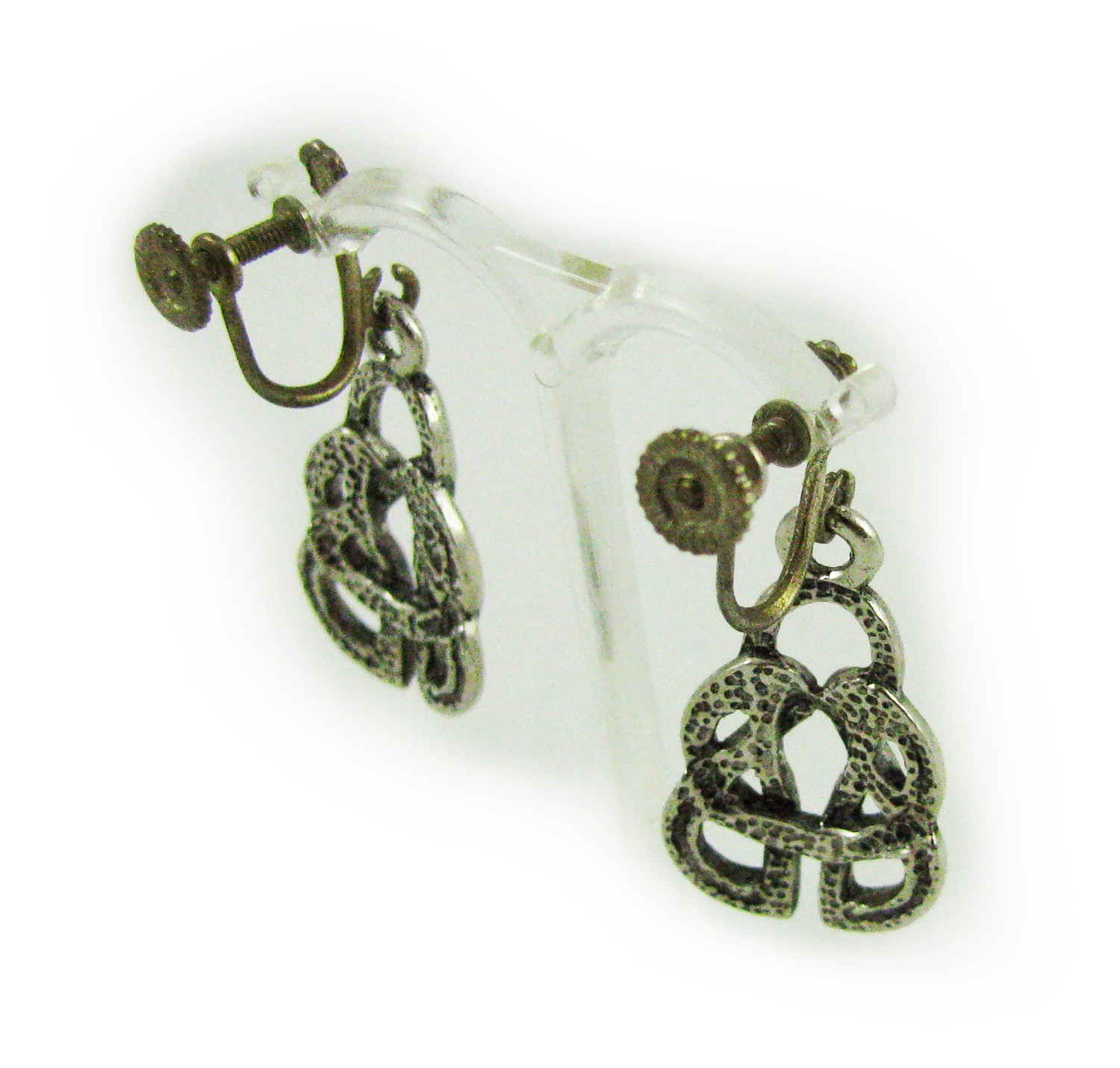 Screw Back Earrings http://v4vintage.com/index.php/vintage-bridal/1910-arts-and-crafts-screw-back-earrings.html